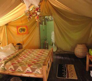 Accommodation at Bwindi Forest
