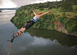 Cultural Safaris Uganda-Bungee jumping