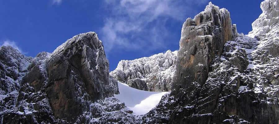Mountain Rwenzori National park Uganda