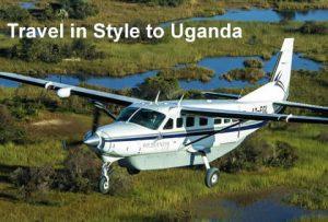 Flying Safaris to Uganda